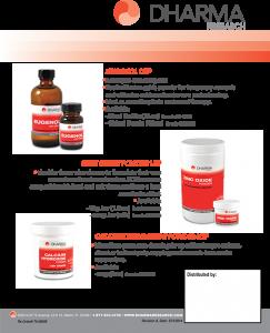 Dharma's Eugenol, Zinc Oxide & Calcium Hydroxide