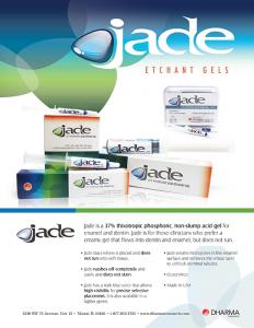 Jade Etchant Gels