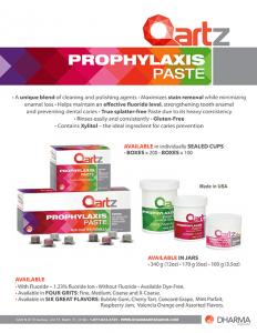 Qartz Prophylaxis Pastes